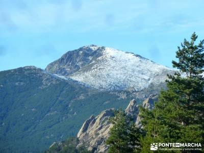 quema Turrón; El Yelmo, La Pedriza; senderismo en portugal parque nacional de madrid